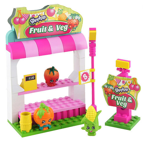 Shopkins Kinstructions Fruit & Veggie Stand
