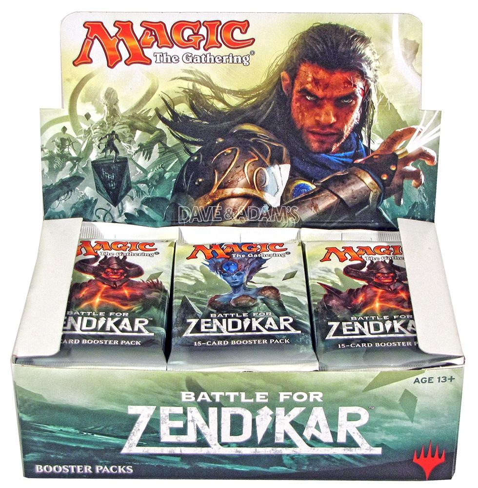 Magic the Gathering Battle for Zendikar - Booster Box