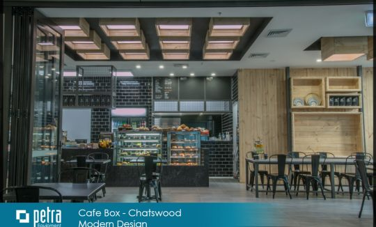 Cafe fit out